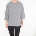 BETTER AMERICAN COTTON 3/4 SLEEVE CREW NECKサムネイル
