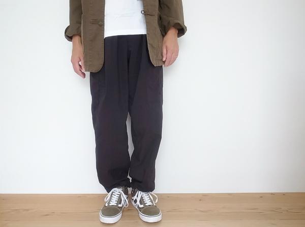 HEALTH  Easy pant ♯7 BLACK (ヘルス イージーパンツ)