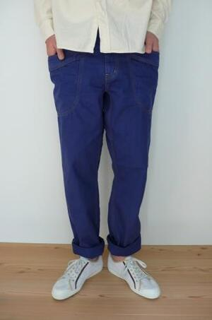 GO HEMP   VENDER FIT PANTS  BLUE