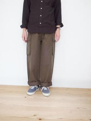 KIFFE SINGLE GURKHA PANTS