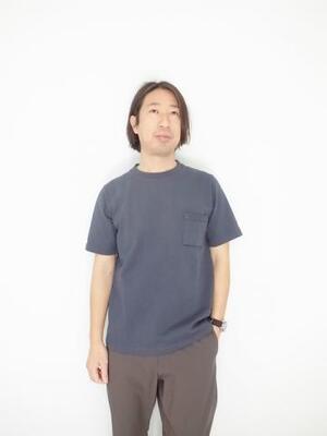 Jackman Dotume Poket T-shirt SLATE IVY