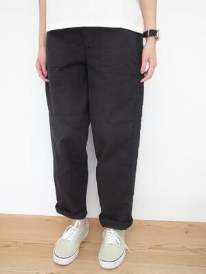 Ordinary fits TOMAS PANTS BLK