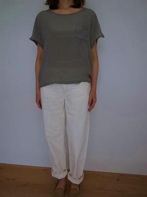 Brocante グランTシャツ Litght gray
