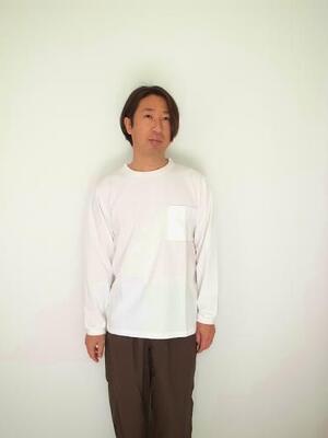 Jackman Poket L/S T-shirt JM5029 White