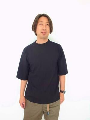 Jackman 1/2 Sleeved T-shirt JM5930 Black