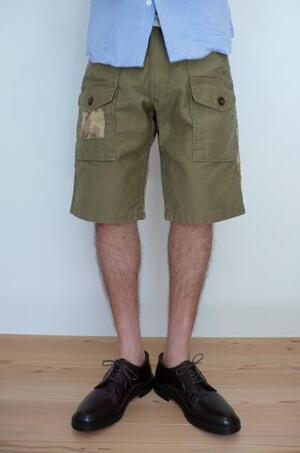 HIGH TIDE(ハイタイド) Trailblazer short pant sand