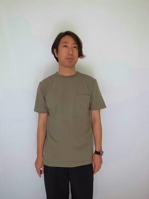 BETTER AMERICAN COTTON S/S T-SHIRT SAGE GRAY