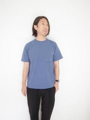 Jackman JM5009 Poket T-shirt Ash Blue