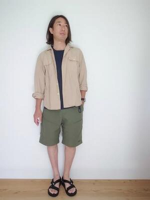 WILD THINGS CAMP SHORTS OLIVE