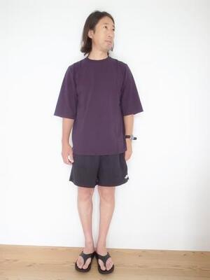 Jackman 1/2 Sleeved T-shirt JM5930 Dark Purple