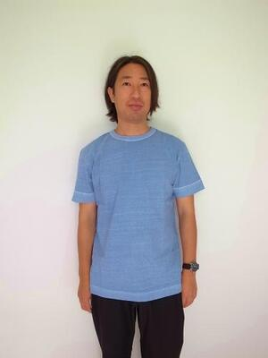 BETTER MID WEIGHT CREW NECK S/S CREW T PG BLUE