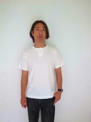 Jackman HENLEYNECK T-SHIRT White