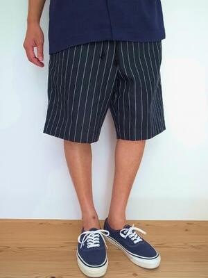 HEALTH ヘルス Easy pants #6 Black stripe
