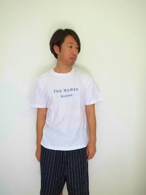 HEALTH ヘルス  S/STEE The Human homme White×Blue