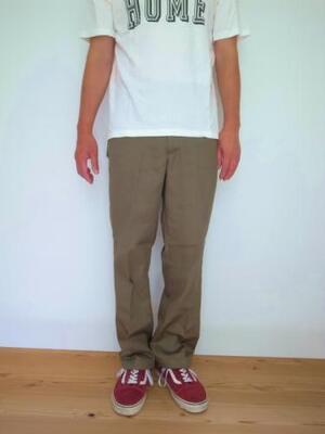 HEALTH ヘルス Trouser #1 khaki
