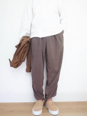 HEALTH ヘルス Easy pant ♯6 KHAKI