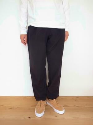 BURLAP OUTFITTER TRACK PANT BLACK