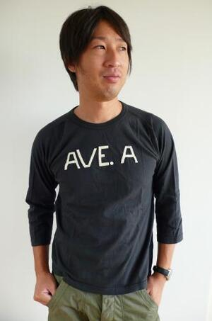 LEFT FIELD 10.AVE.A  3/4TEE BLACK