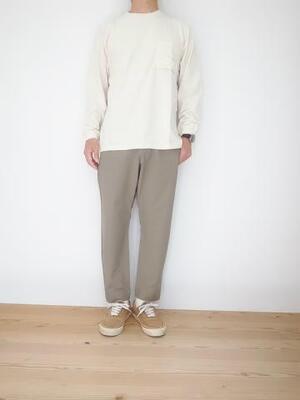 Jackman Poket L/S T-shirt JM5029  Kinari