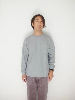 Jackman Poket L/S T-shirt JM5029  DuskBlue