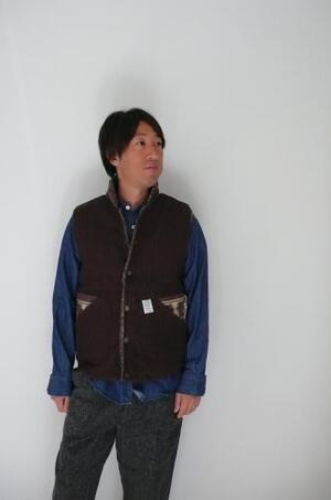 HIGH TIDE(ハイタイド)Athletic worm vest