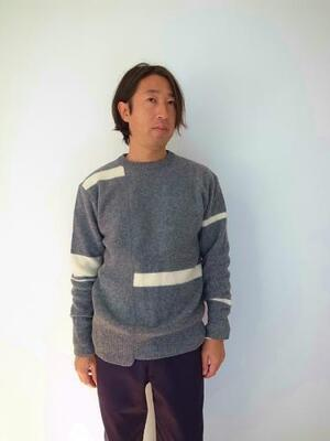 BETTER FELTED WOOL DOCKING SWEATER