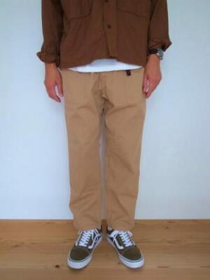 GRAMICCI LOOSE TAPERED PANTS CHINO