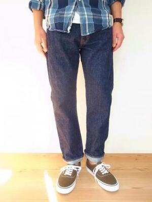 orslow メンズ IVY FIT JEANS 107