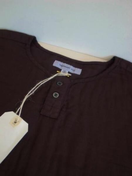 Ordinary fits HENLY BARBA SHIRT BLK