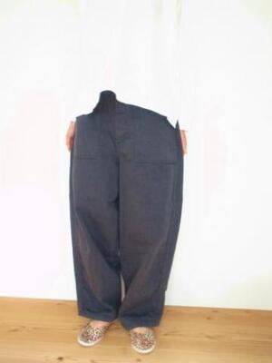 Ordinary fits JAMES PANTS P066 BLK