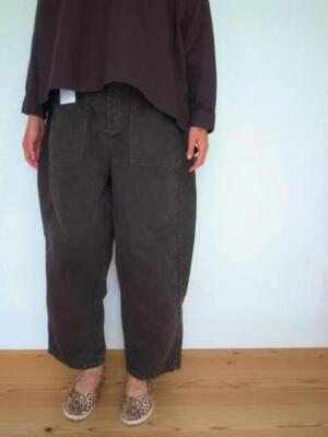 Ordinary fits JAMES PANTS P071 KHK