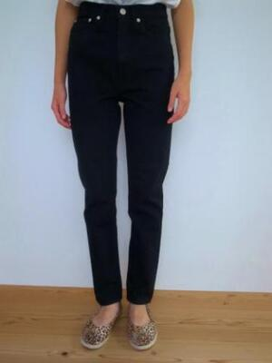 orslow C100 SUPERSLIM Black Denim