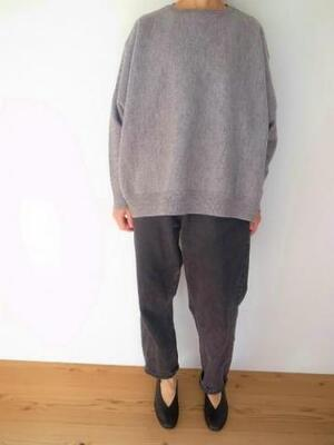 Ordinary fits BARBER KNIT LGY