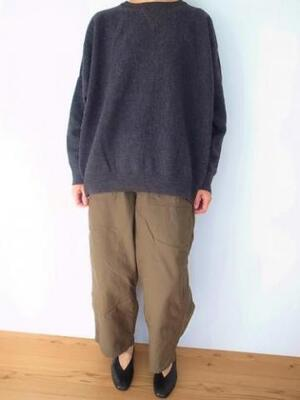 Ordinary fits BARBER KNIT CCL